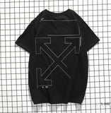 OFF-WHITE Outline Logo Tee
