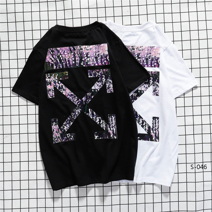 OFF-WHITE Sprinkle Painting Tees