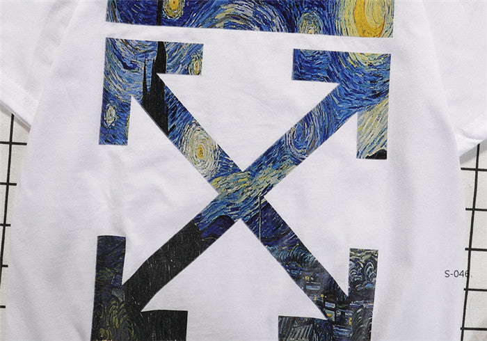 OFF-WHITE The Starry Night Tees