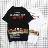 OFF-WHITE The Last Supper Tees