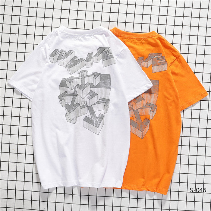 OFF-WHITE Rationalism 3D Tees
