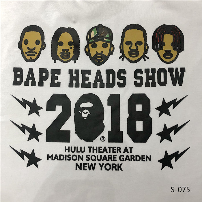 BAPES Head Show Tees