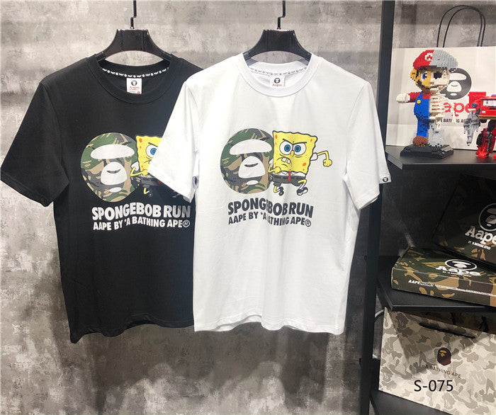 BAPE Spongebob Run Tees