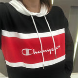 CHAMPION B&W Chic Hoodies