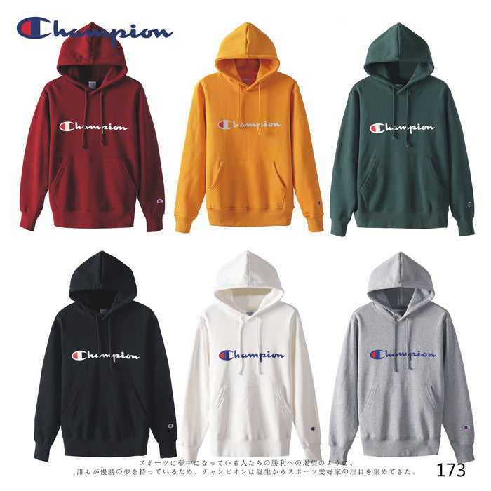 CHAMPION Logo Design Hoodies