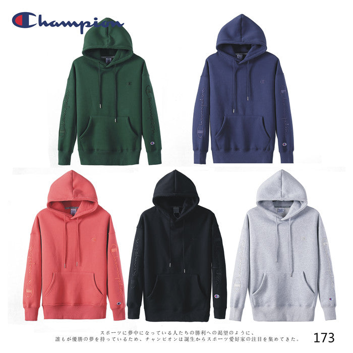 CHAMPION Plain Hoodies