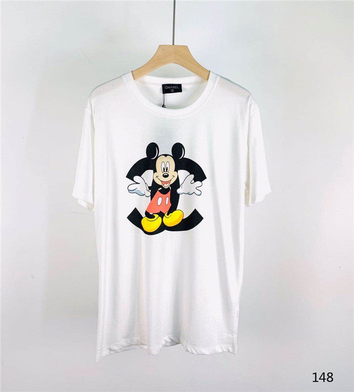 CHANEL Mickey Mouse print T-shirt
