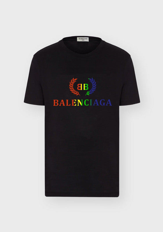 Colorful Logo Print Balenciaga Shirt