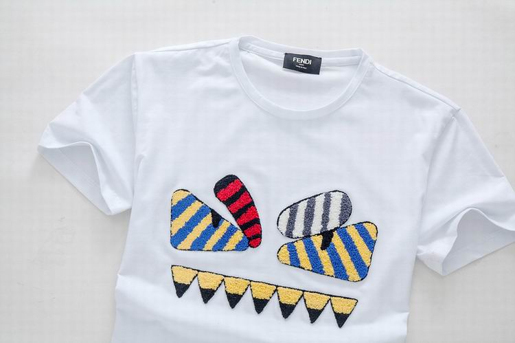 Angry Bee Motif Fendi Shirt