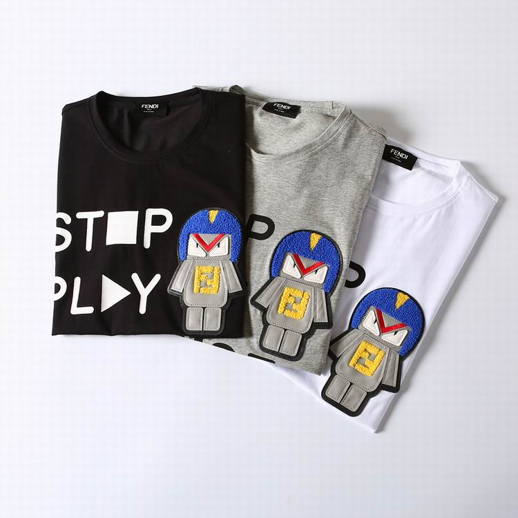 Stop Play Pause Fendi Shirt