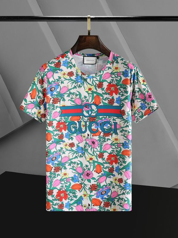 GUCCI FLORAL PRINTED T-SHIRT