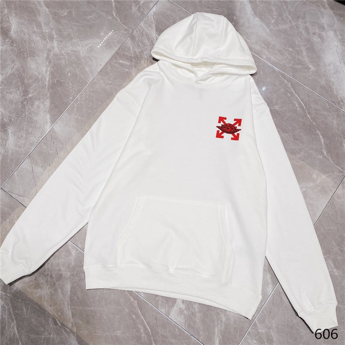 White Dior-White Hoodies