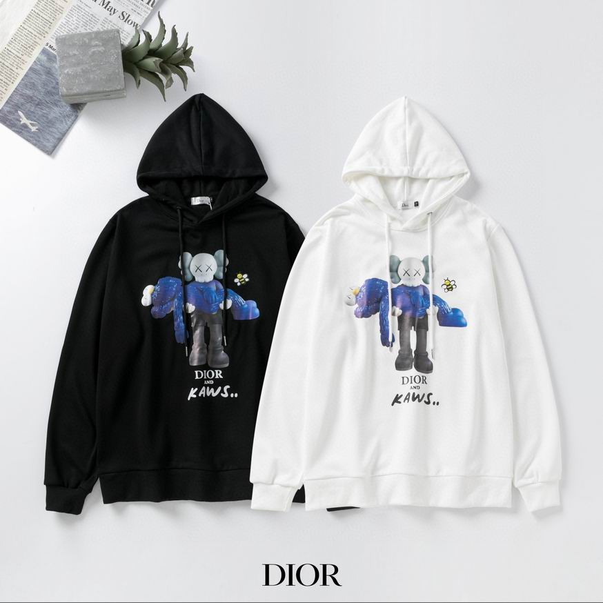 Dior long Hooded head fleece man