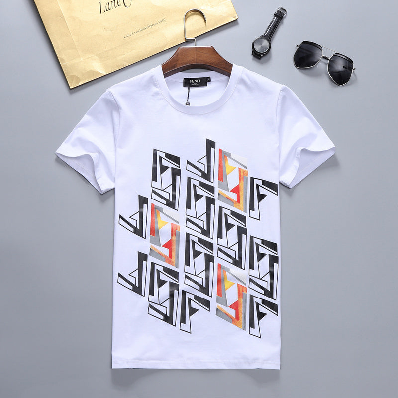 Cool FF motif Fendi Shirt