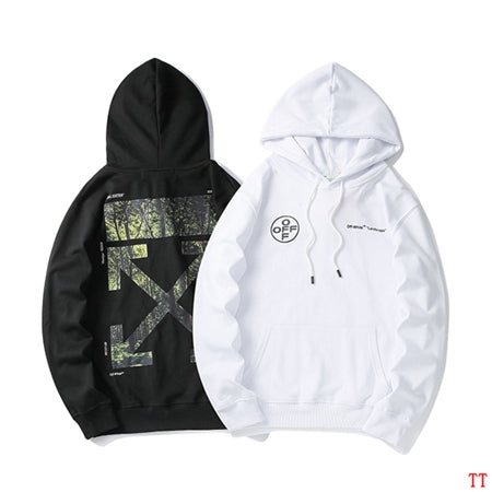 OFF-WHITE Forest Print Hoodie