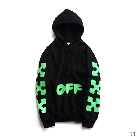 OFF-WHITE Neon Print Hoodie