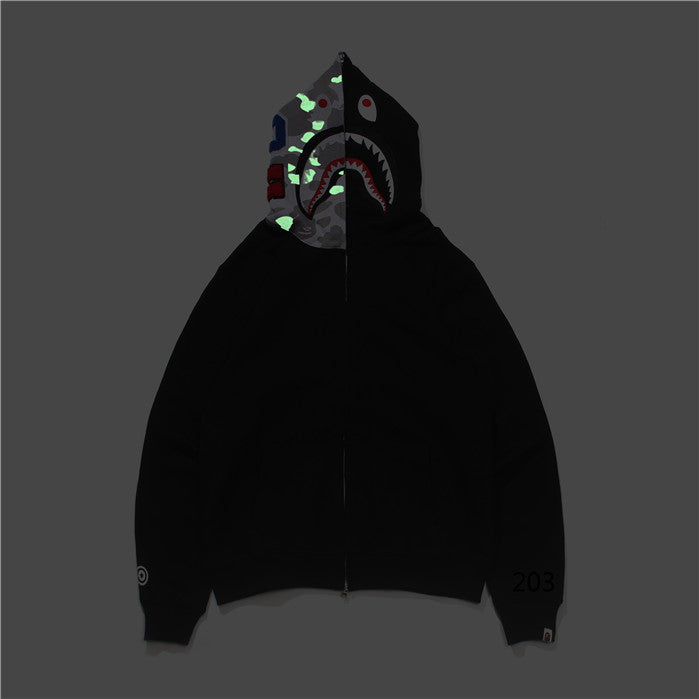 BAPE Half Glow In The Dark Hoodie