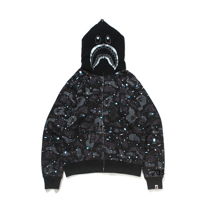 BAPE Glow In The Dark Sparkly Hoodie