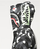 BAPE Two-sided Colors Glow In The Dark Shark Hoodies