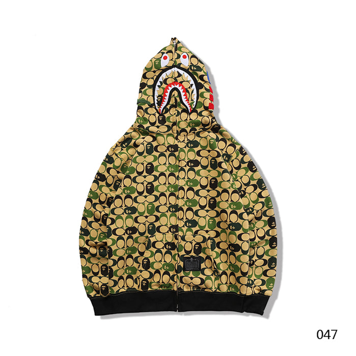 BAPE C And Ape Head Hoodie