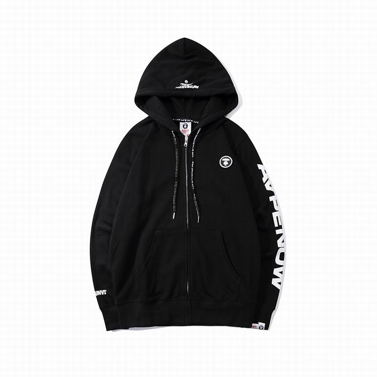 BAPE AAPE Now Hoodies Black