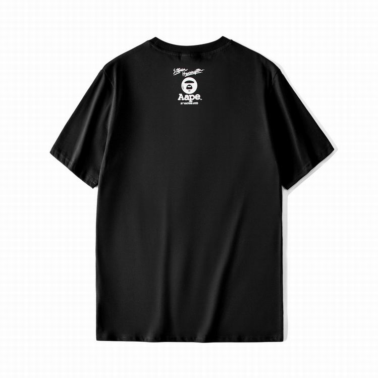 AAPE Summer TEE Black