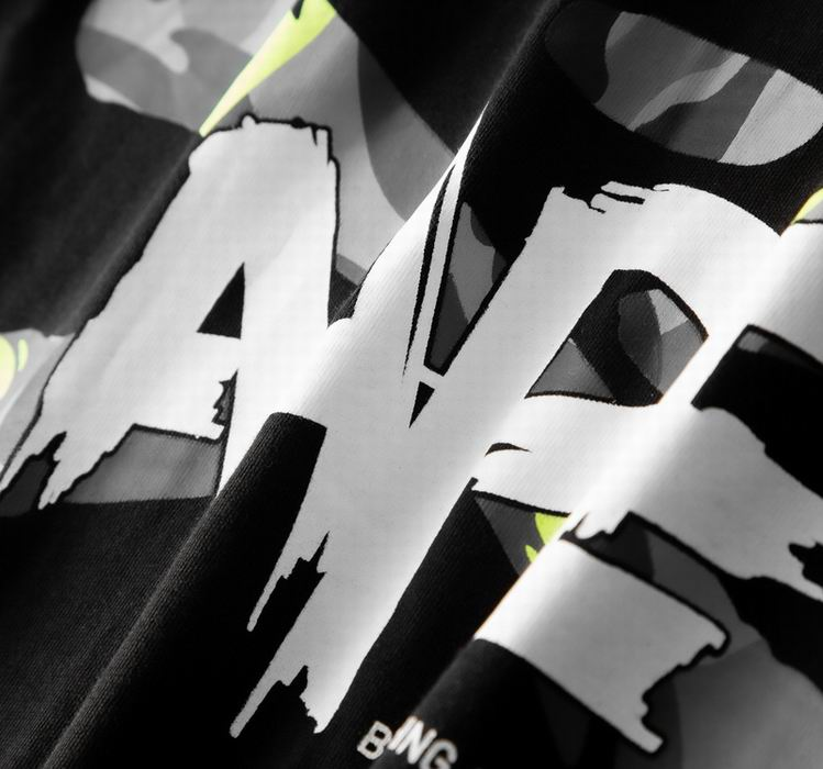 AAPE Ape Face Tee Black
