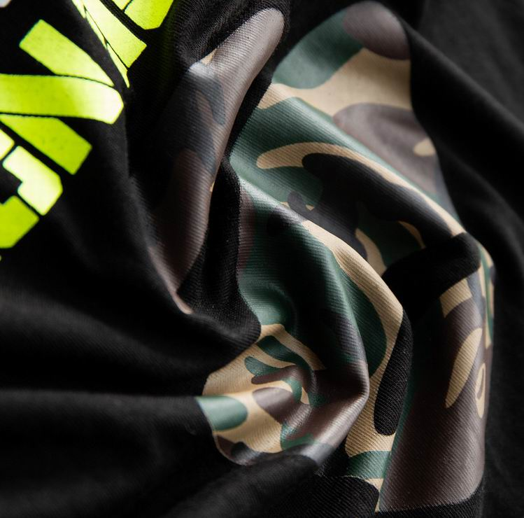 AAPE Camo Graphic Tee Black