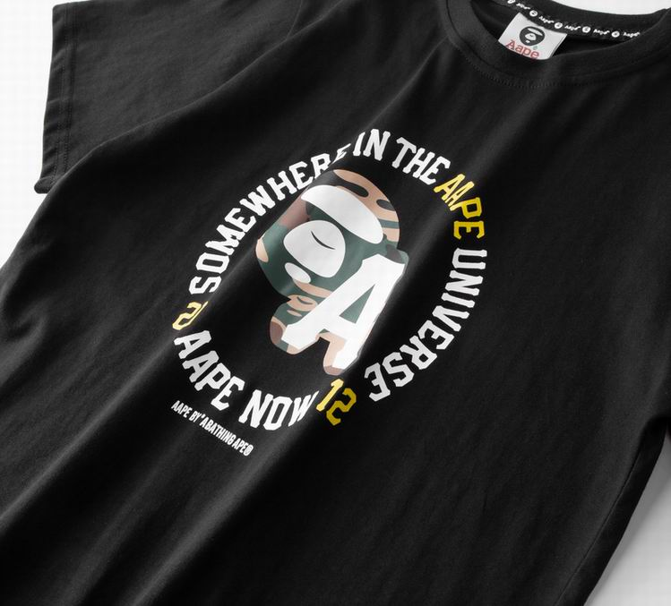AAPE 20 Ape Now 12 T-shirt Black