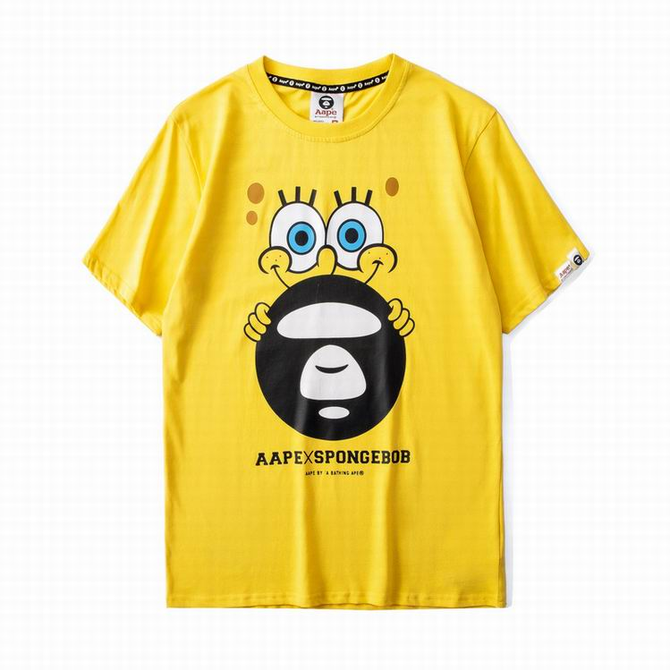 AAPE X Spongebob TEE Yellow