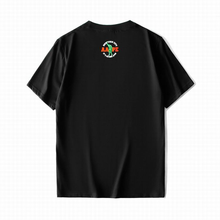 AAPE RB Camo TEE Black