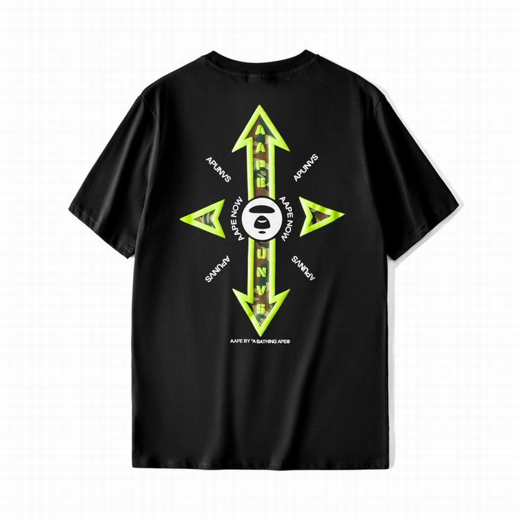 AAPE Cross TEE Black
