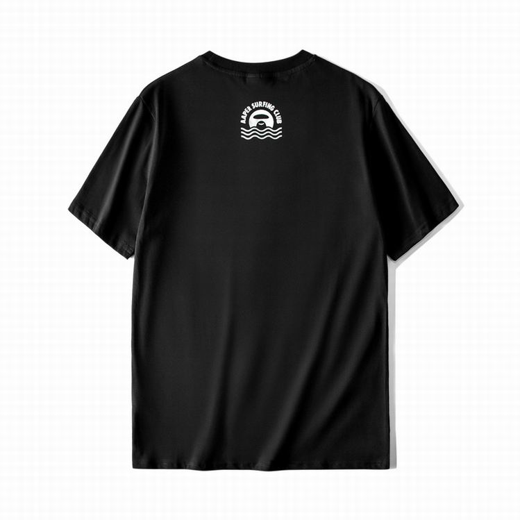 AAPER Blue T-shirt Black