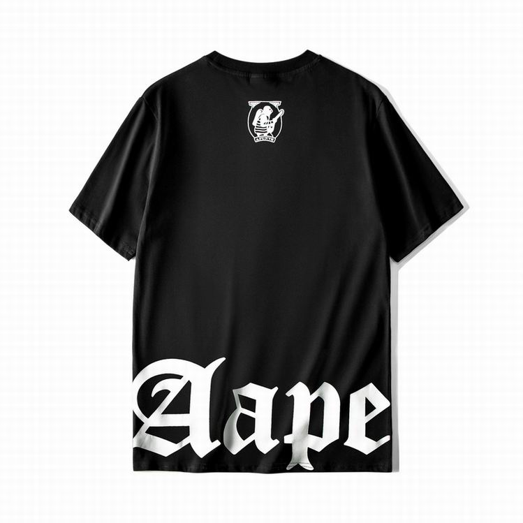 AAPE Metallic Gold T-shirt Black