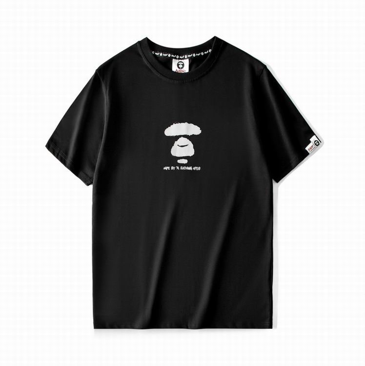 AAPE and Planet Earth APUNVS TEE Black