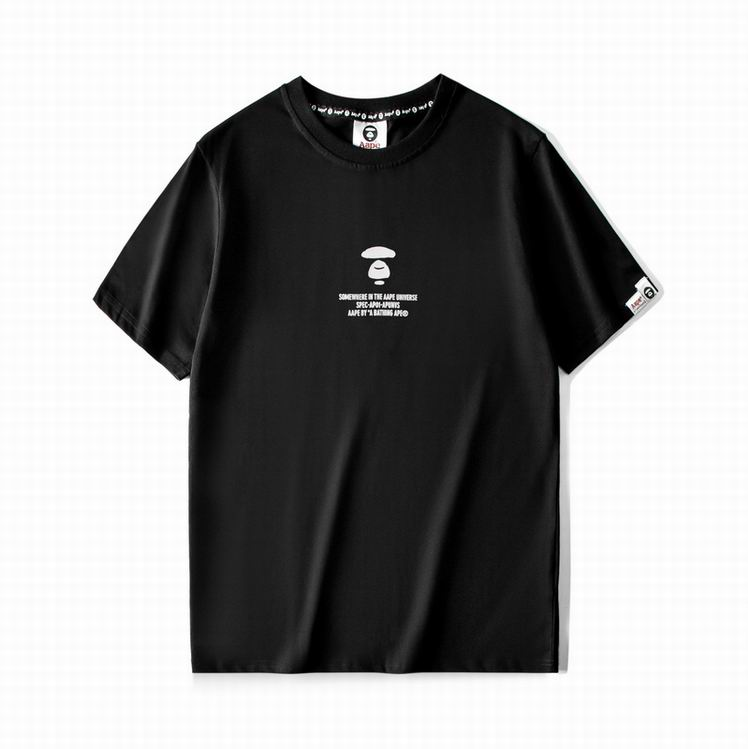 AAPE Blue Line UNVS T-shirt Black