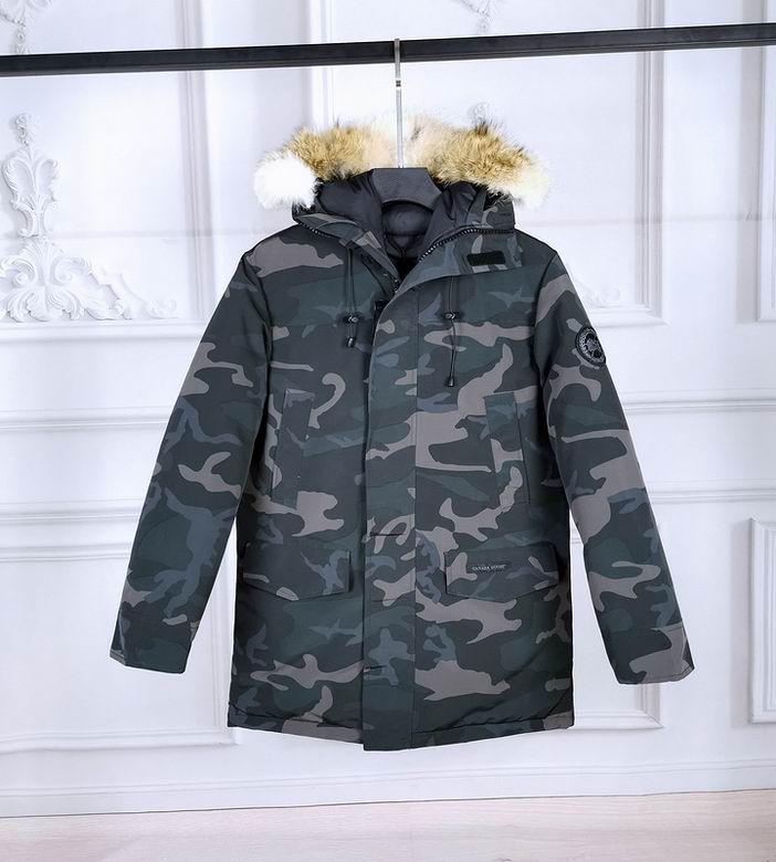 Canada Goose Langford Hooded Parka CAMOUFLAGE