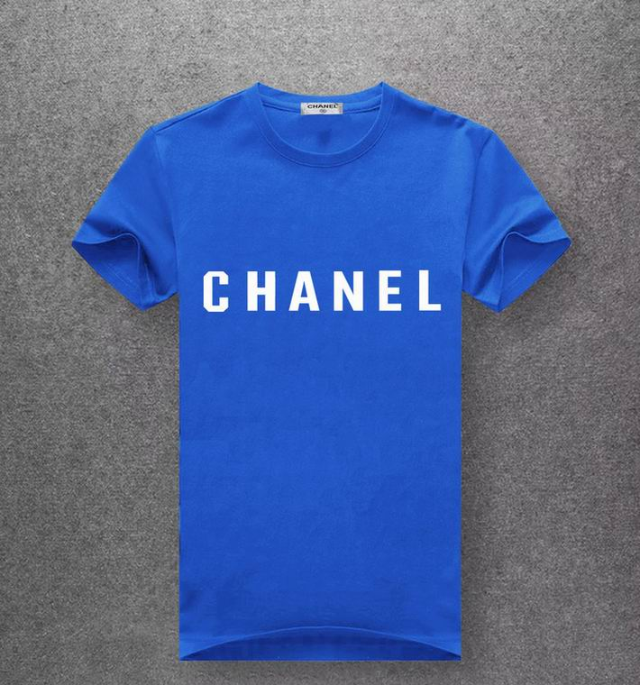 Chanel blue T-shirt white print