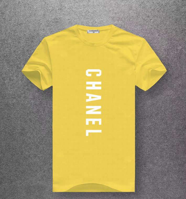 Chanel yellow T-shirt white print