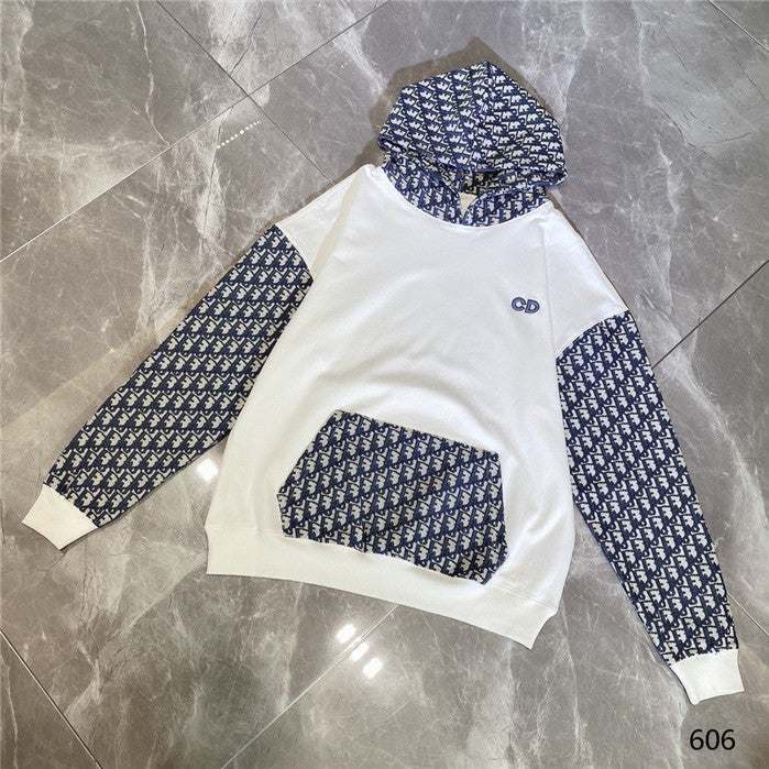 White CD Dior Hoodies
