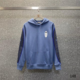 Blue Long Sleeve Dior hoodies