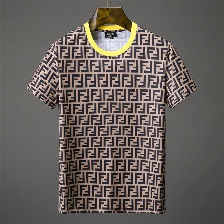 Black And Brown FF Motif Fendi Shirt