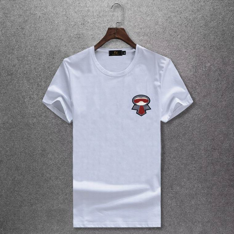 Pocket Doll Design Fendi White Shirt