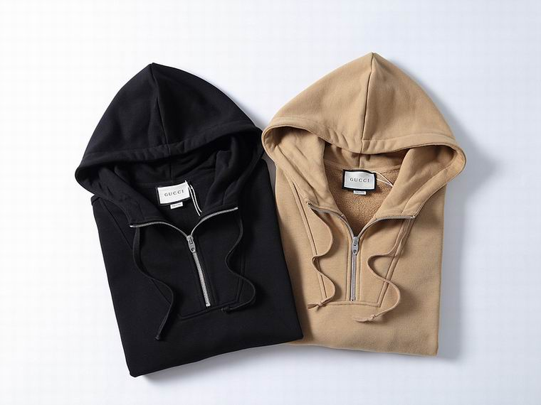 Gucci Hoodies Black/Brown