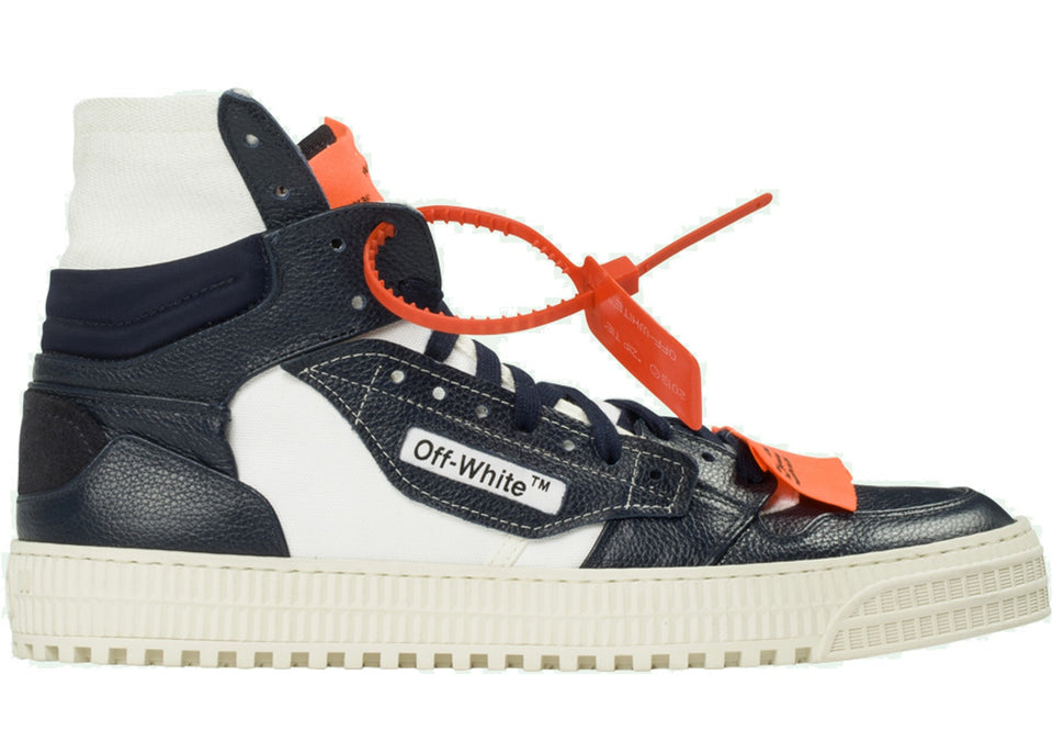 OFF-WHITE Off-Court Tumbled Navy