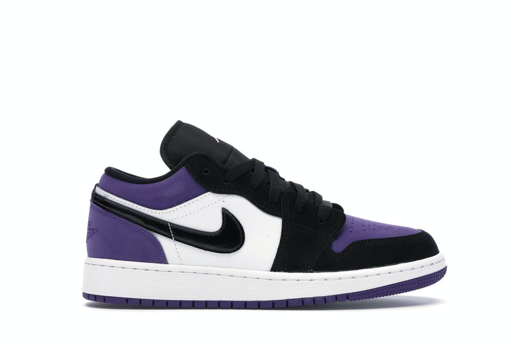 Air Jordan 1 Low Court Purple (GS)