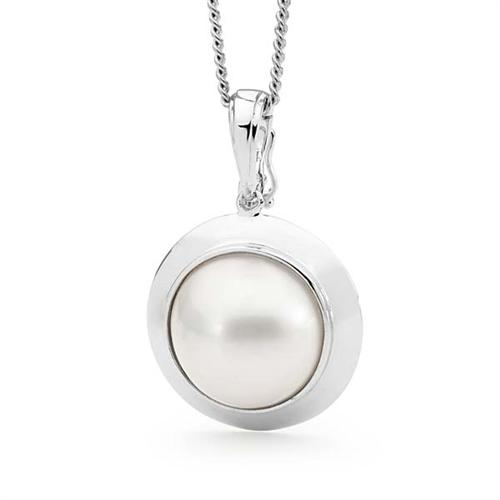 Mabe Pearl Enhancer Sterling Silver