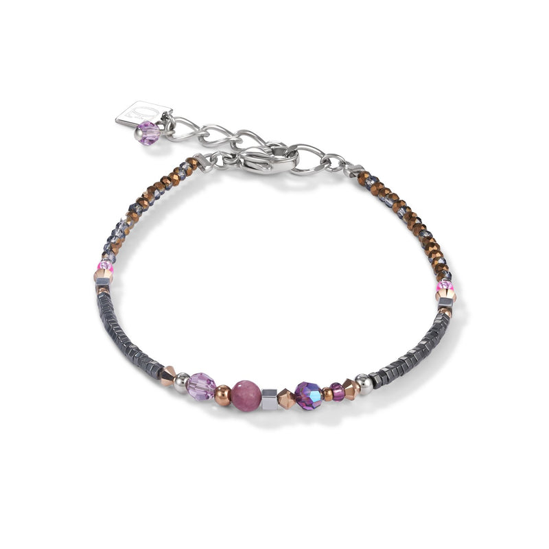 COEUR DE LION - Natural Selection Warm Purple Bracelet