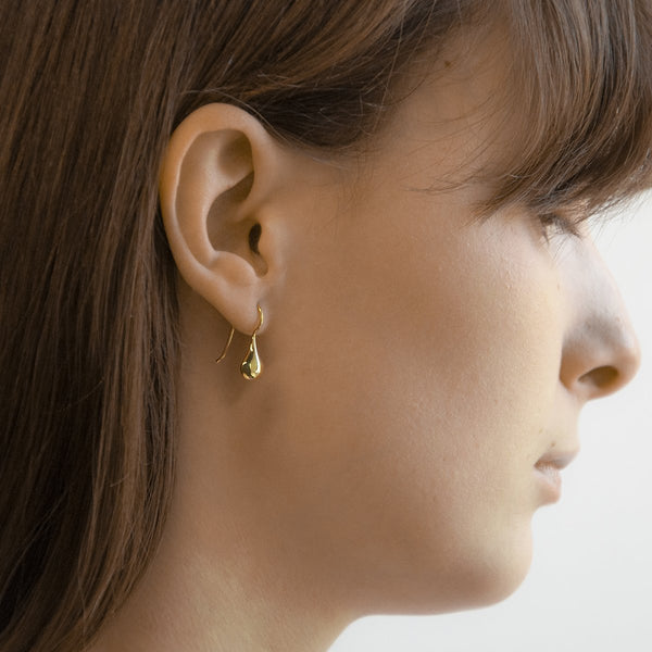 Najo - Baby Tears Earring Yellow Gold