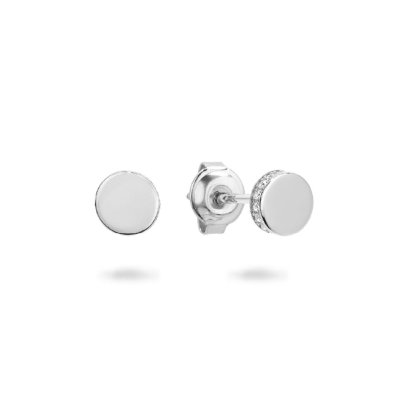 Georgini - Micro Sterling Silver Cubic Zirconia Stud Earrings